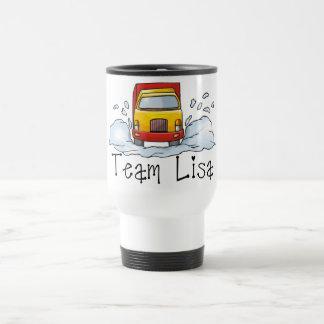 Taza De Viaje Camisetas y regalos - equipo Lisa del camionero de