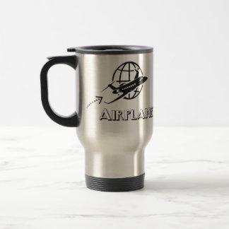 Taza De Viaje Caneca térmica- Piloto de avião