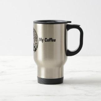 Taza De Viaje Conseguí comer mi café