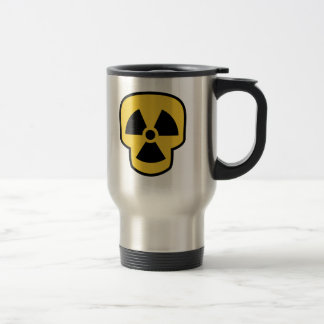 Taza De Viaje Cráneo radiactivo