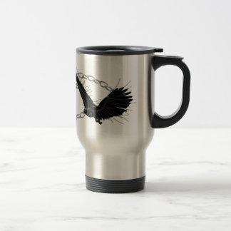 Taza De Viaje Cuervos en vuelo