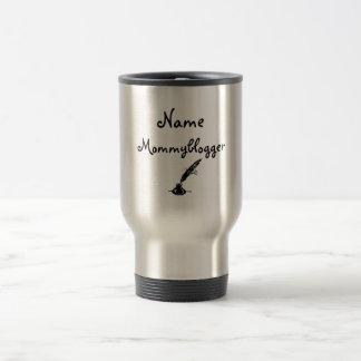 Taza De Viaje Diseño personalizado blogger de la mamá