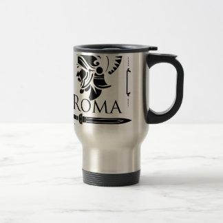 Taza De Viaje Ejército romano - legionario con Gladio