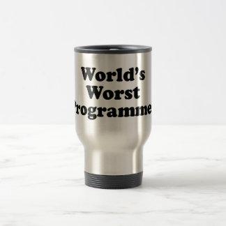 Taza De Viaje El programador peor del mundo
