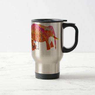 Taza De Viaje Elephants