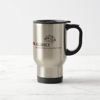 Taza De Viaje Engranaje clásico del logotipo de Alliance del