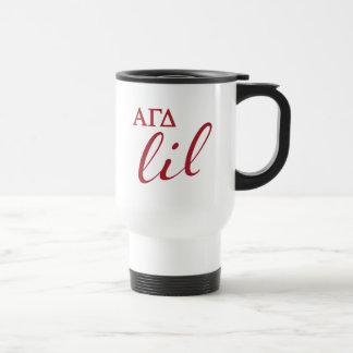 Taza De Viaje Escritura gamma alfa de Lil del delta