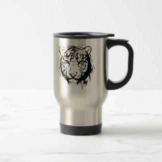Taza De Viaje Esquema del tigre