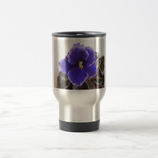 Taza De Viaje Floración de la violeta africana
