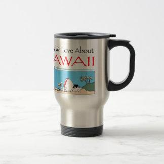 Taza De Viaje Hawaii por Harrop-T-b