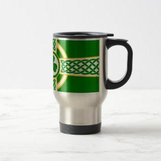 Taza De Viaje Irish_Celtic_Cross