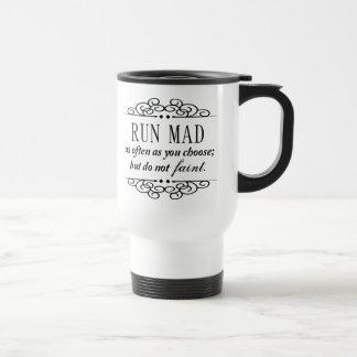 Taza De Viaje Jane Austen: Funcione con el café del viaje o la