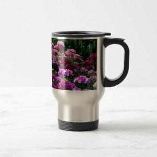 Taza De Viaje Jardín de flores en verano