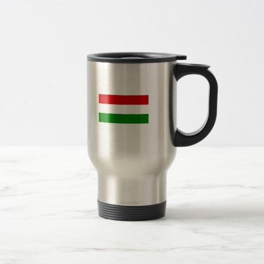 Taza De Viaje La bandera de Hungría