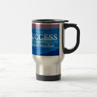 Taza De Viaje Llave a la cita inspirada del éxito