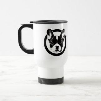 Taza De Viaje Logotipo lindo del dogo francés