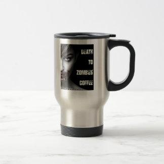 Taza De Viaje Muerte al café de los zombis