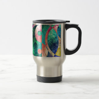 Taza De Viaje Nebulosa abstracta de Yin Yang