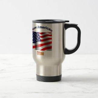 Taza De Viaje Nuevo ciudadano americano