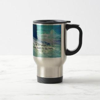 Taza De Viaje Océano inspirado del mar de JUANA DE ARCO de la