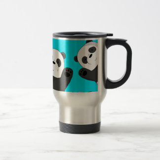 Taza De Viaje Pandas lindas