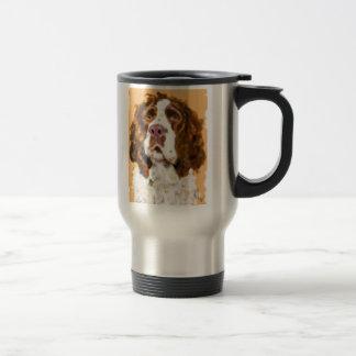 Taza De Viaje Perro de aguas de saltador inglés