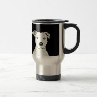 Taza De Viaje Raza del perro de Pitbull