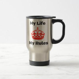 Taza De Viaje reglas de la vida