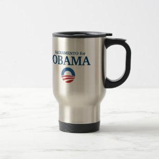 Taza De Viaje SACRAMENTO para el personalizado de Obama su