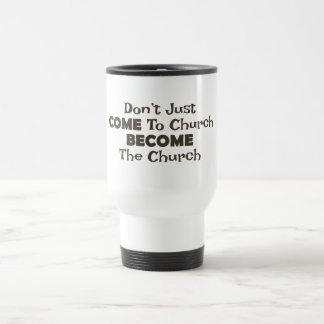 Taza De Viaje Se convierte la iglesia