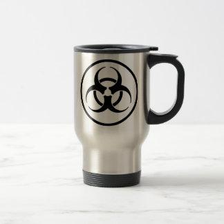 Taza De Viaje Símbolo del Biohazard