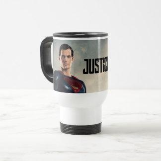 Taza De Viaje Superhombre de la liga de justicia el | en campo