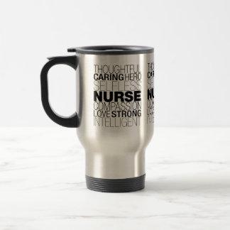 Taza De Viaje Texto de la enfermera