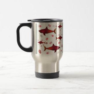 Taza De Viaje Tiburón rojo