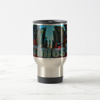 Taza De Viaje Times Square Broadway New York City, Nueva York
