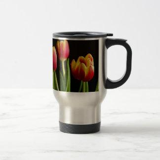 Taza De Viaje tulipanes