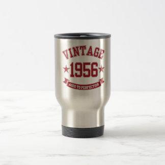 Taza De Viaje Vintage 1956 envejecido a la perfección