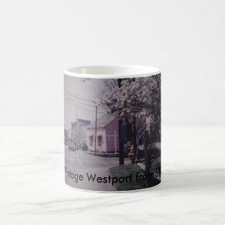 Taza de Westport del vintage - librería notable