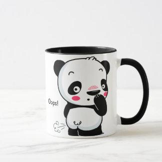 Taza del abucheo de la panda