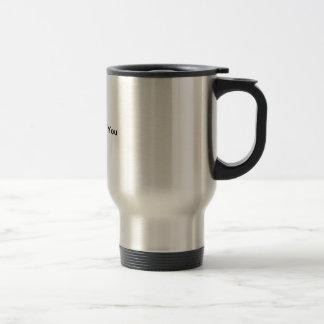 taza del acero inoxidable, taza de café, taza gris