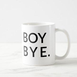 Taza del adiós del muchacho