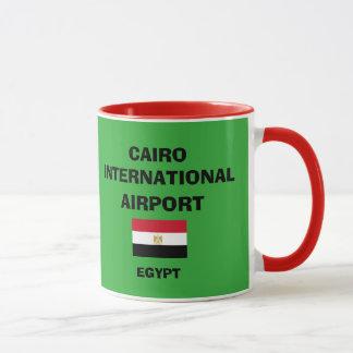 Taza del aeropuerto internacional de El Cairo