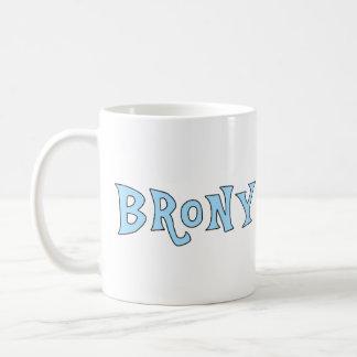 Taza del amante de Brony - azul