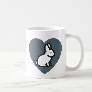 Taza del amante del conejito