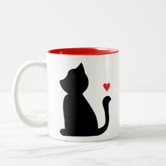 Taza del amante del gato