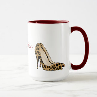 Taza del amante del zapato