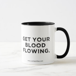 Taza del amaranto del café