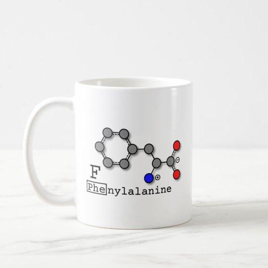 Taza del aminoácido de la fenilalanina