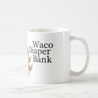 Taza del banco del pañal de Waco