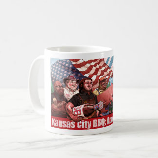 Taza del Bbq de Kansas City